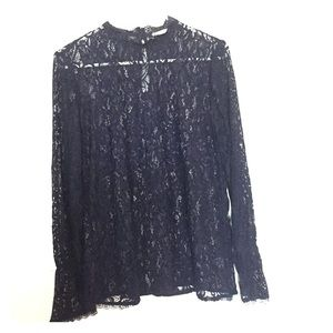 Nordstrom Rack Pleione Long Sleeve Lace Blouse